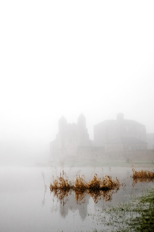 Enniskillen Castle in Mist by mole2k