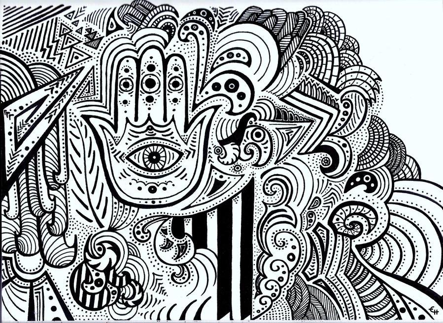 Hamsa Hand By Eevahandula