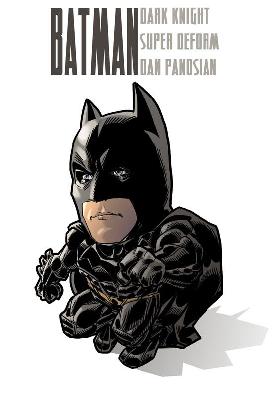 super deform batman by urban-barbarian