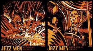 Jazz Men by urban-barbarian