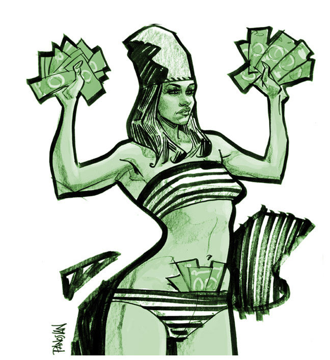 money money money MONEY by urban-barbarian