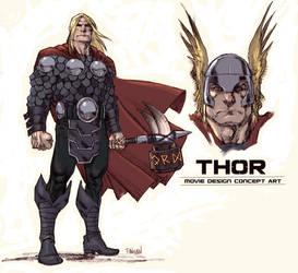 Holy Switcheroo - Thor by urban-barbarian