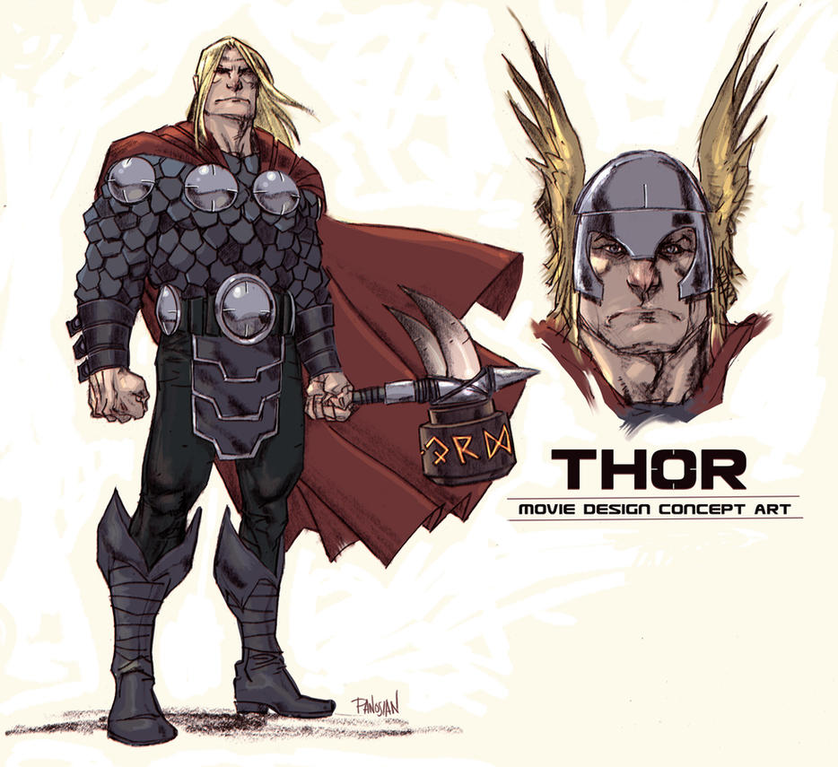 Holy Switcheroo - Thor by urban-barbarian
