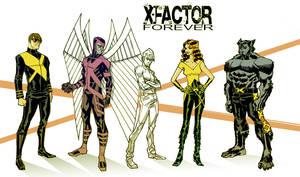 X-Factor Character Studies