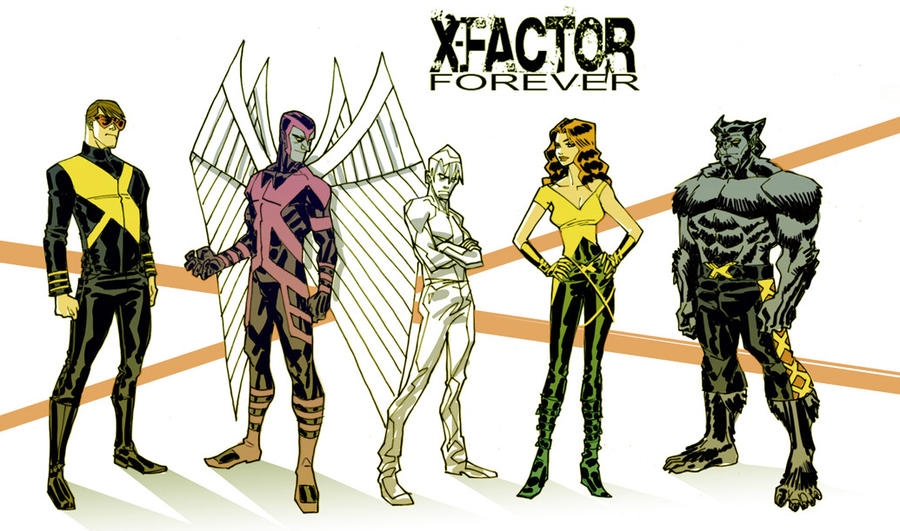 X-Factor Character Studies by urban-barbarian