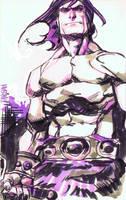Conan Quick Sketch by urban-barbarian