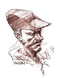 Monsieur Chapeau by urban-barbarian