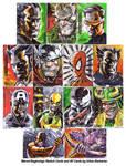 Marvel Beginnings Sketch Cards