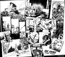 Doc Savage Panel Mash by urban-barbarian