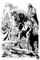 King and Horse by urban-barbarian