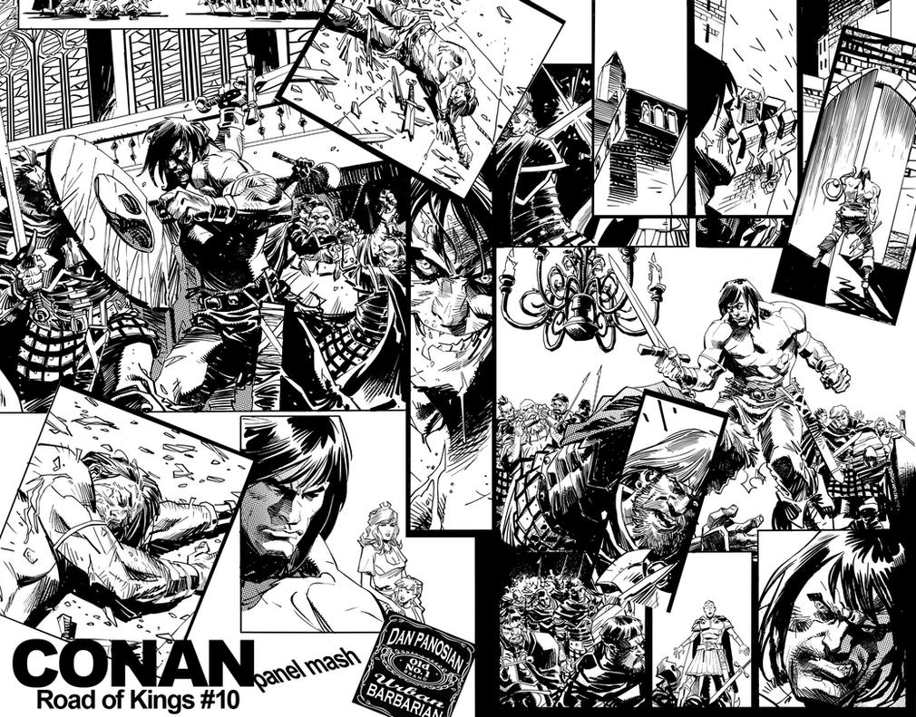 CONAN Panel Mash by urban-barbarian