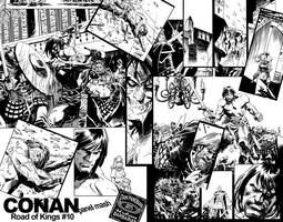 CONAN Panel Mash by urban-barbarian