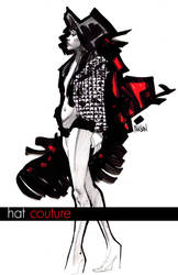 Hat Couture by urban-barbarian