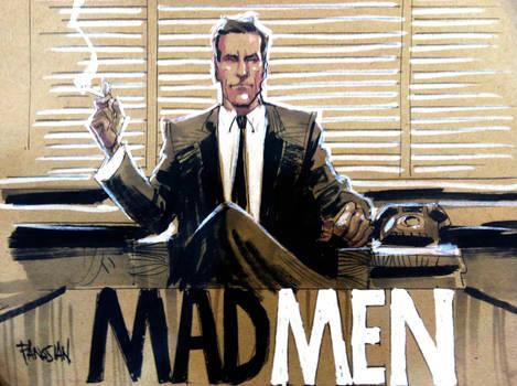 MAD MEN feat DRAPER