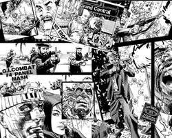 GI Combat Panel Mash Four by urban-barbarian