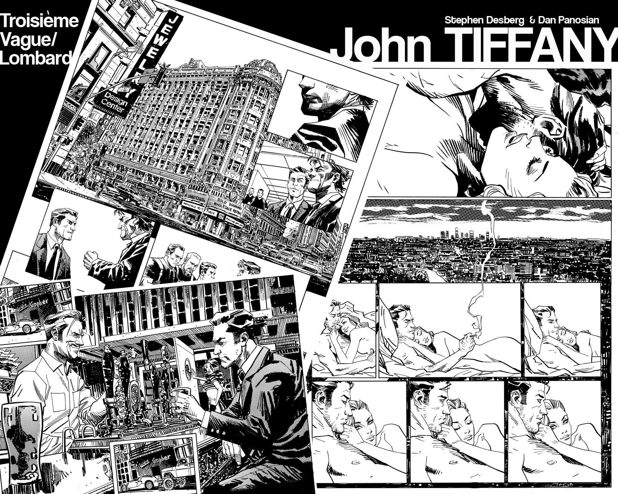 John TIFFANY Panel Mash by urban-barbarian