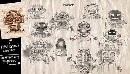 MuseBots by urban-barbarian