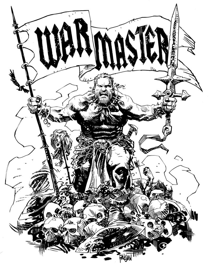 WAR MASTER by urban-barbarian