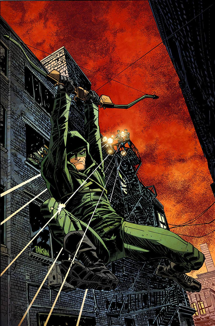 ARROW cover by urban-barbarian
