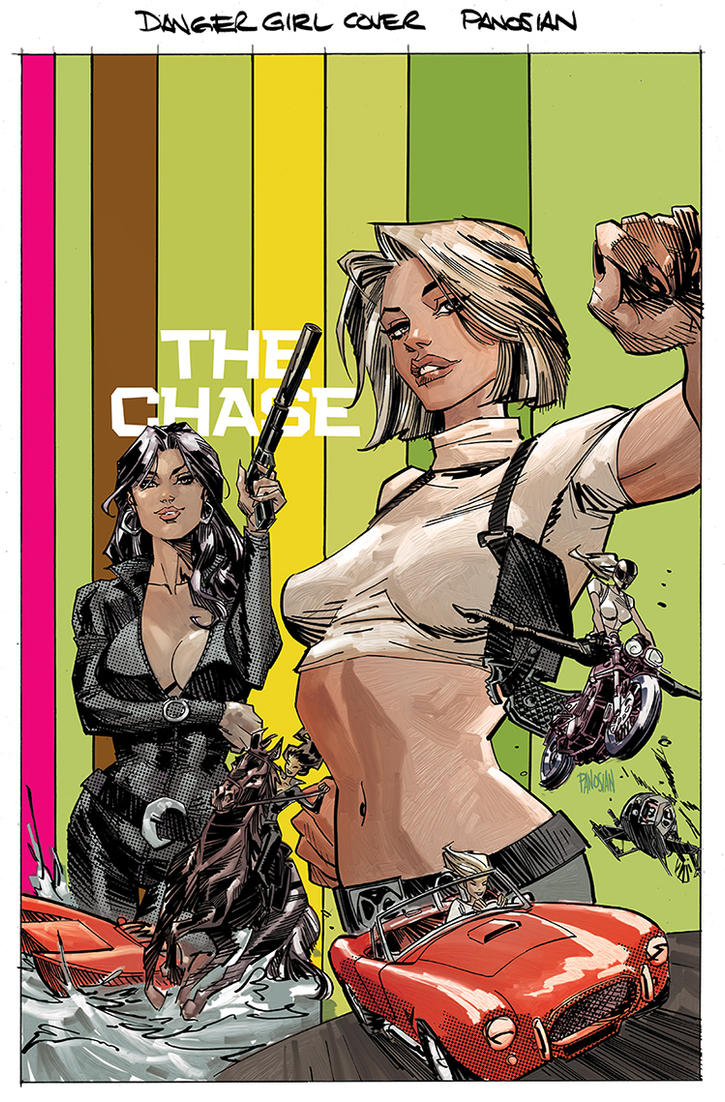 Danger Girl: The Chase #1 by urban-barbarian