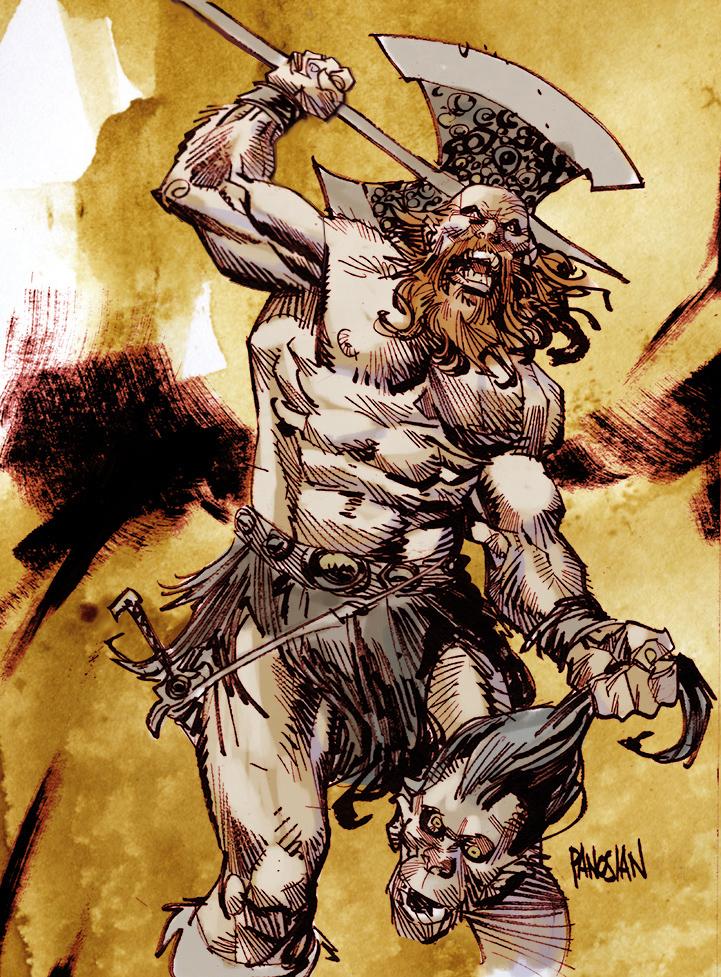 Norseman by urban-barbarian