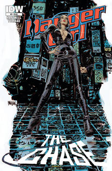 Danger Girl #3 Cover