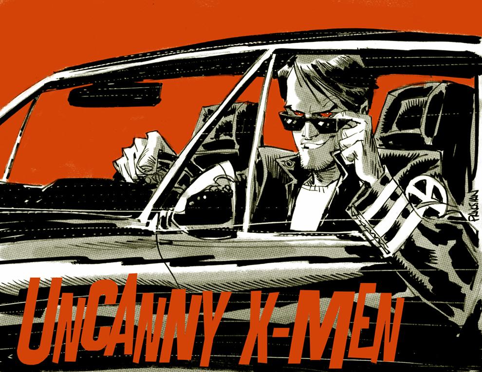Uncanny X-Men by urban-barbarian
