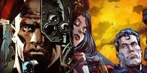 DC Teaser Illustrations