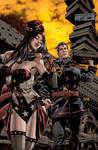 Superman Wonder Woman Steampunk