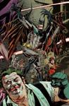 A strange Infinite Crisis Cover...