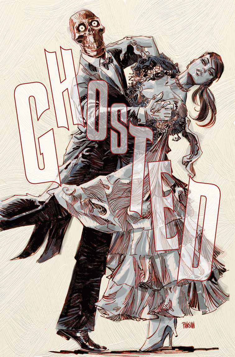 Ghosted #15 Cover by urban-barbarian
