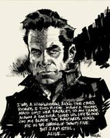 Highwayman -Johnny Cash by urban-barbarian