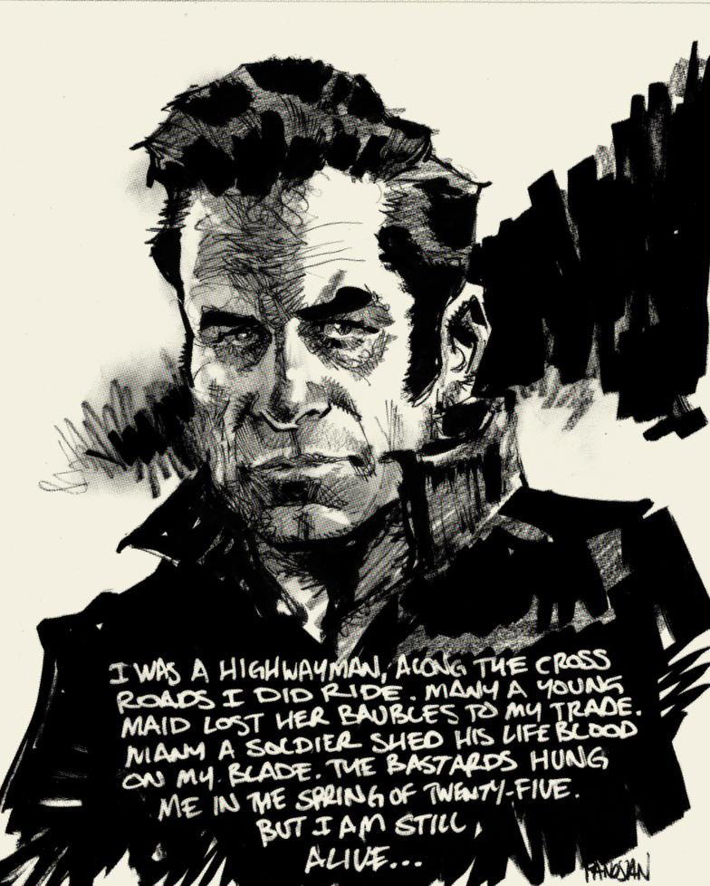 Highwayman -Johnny Cash By Urban-barbarian On DeviantArt