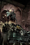 Batman: Arkham Knight Batmobile Cover