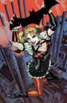 Batman: Arkham Knight Cover #2 feat. Harley Quinn
