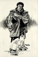 Luke Cage Samurai by urban-barbarian