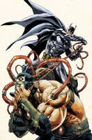 Batman: Arkham Knight Cover #6 by urban-barbarian