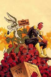 Sinestro and Wile E Coyote