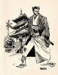 Samurai Logan by urban-barbarian