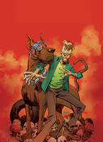 Scooby Doo Variant Cover by urban-barbarian