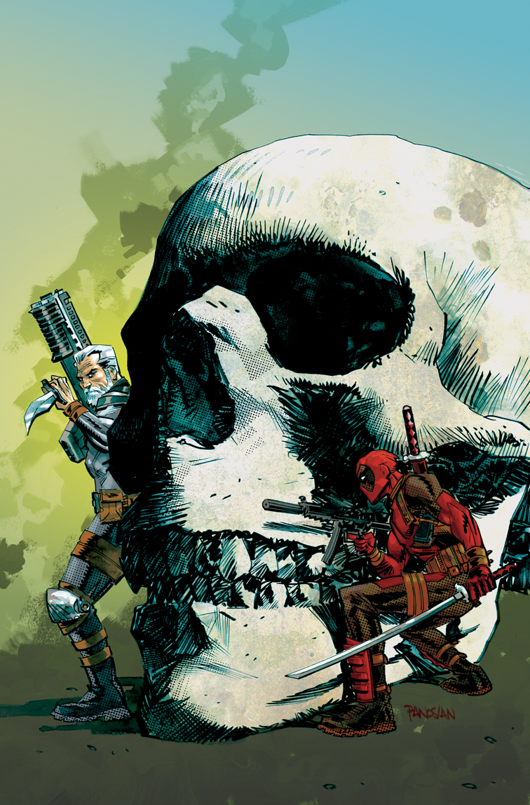 deadpool cable by urban-barbarian