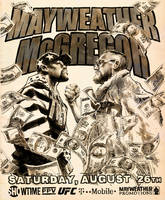 Mayweather VS McGregor by urban-barbarian
