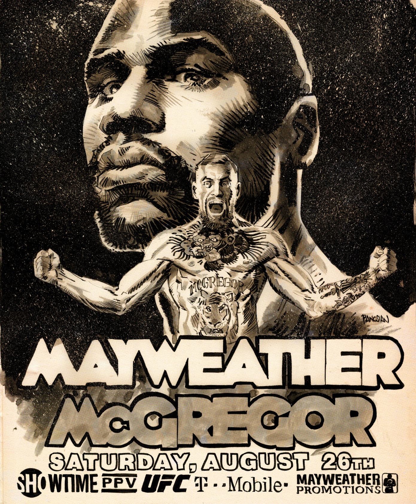 Mayweather VS McGregor 2 by urban-barbarian