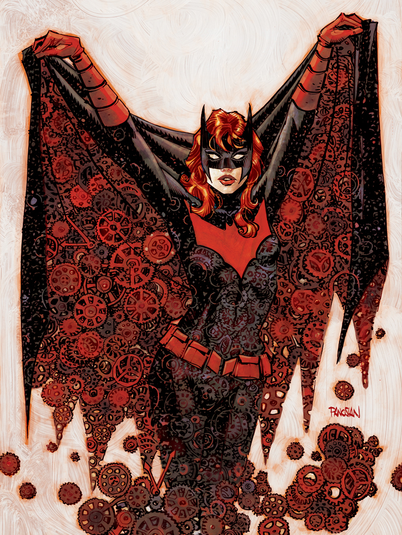 Batwoman cover by urban-barbarian