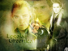 Legolas desktop wallpaper by enkelikitten