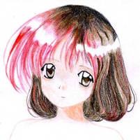 Anime girl - Ceres by enkelikitten