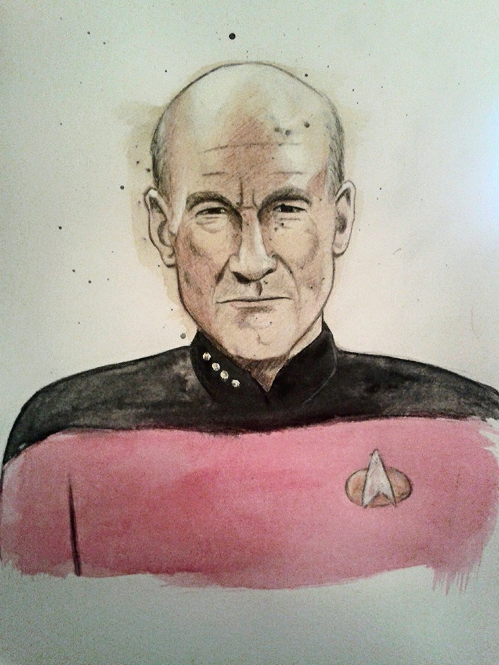Captian Picard by Barfly1986
