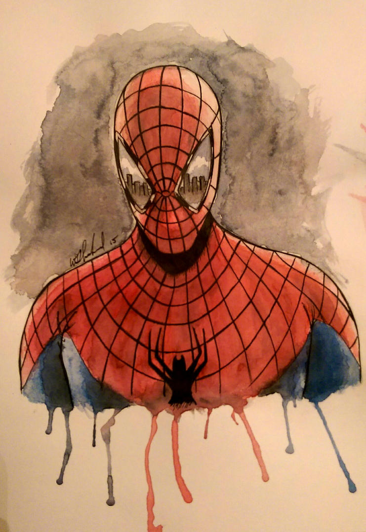 the amazing Spider-Man by Barfly1986