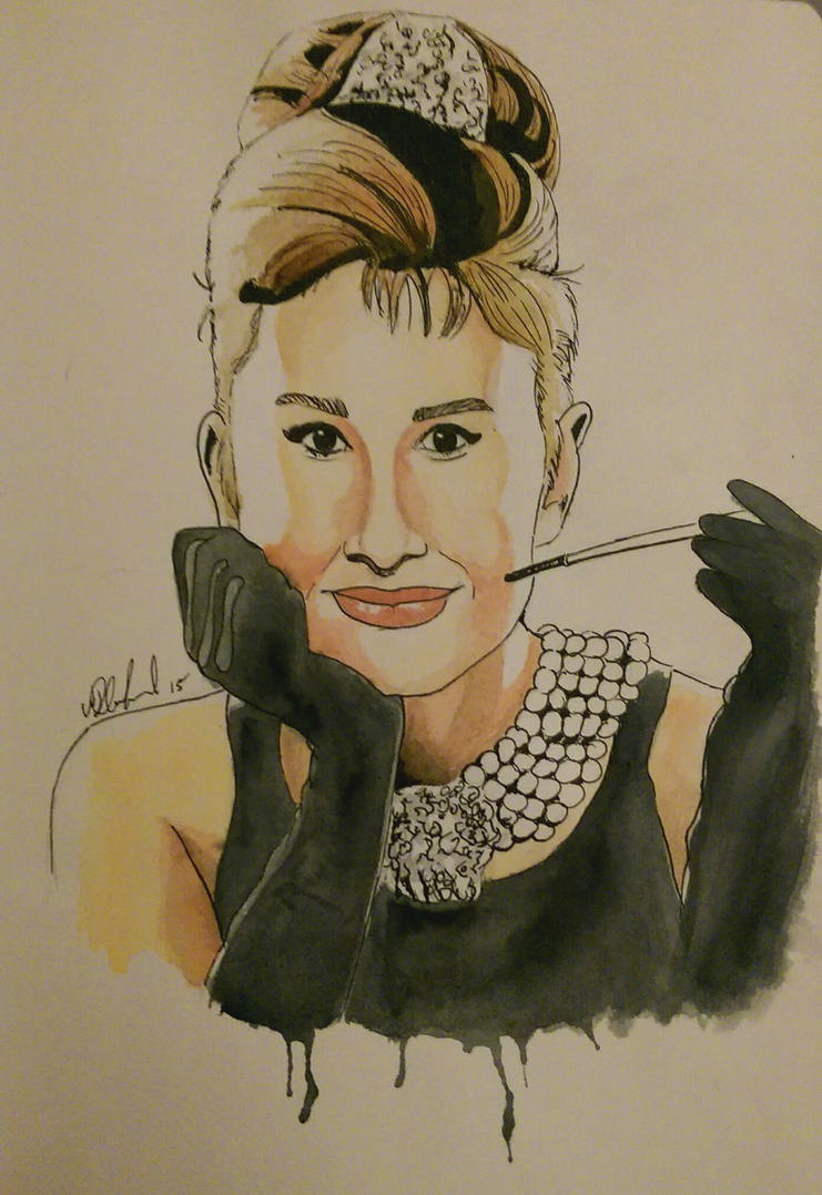 Audrey Hepburn by Barfly1986
