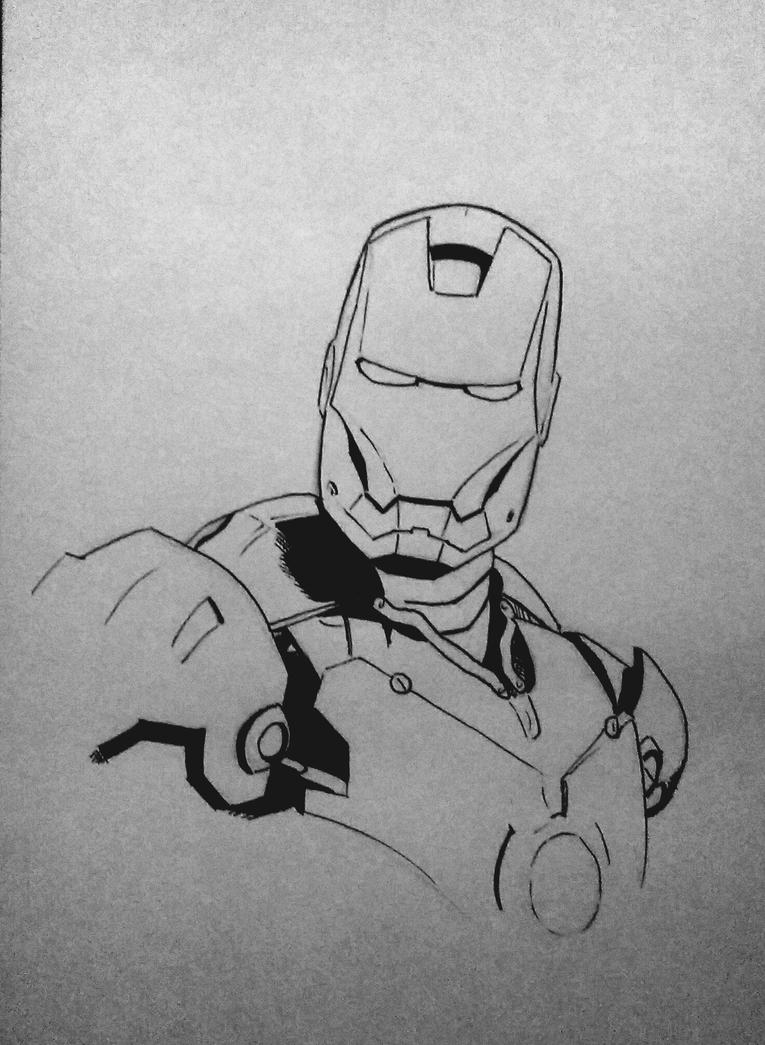 wip Iron man by Barfly1986